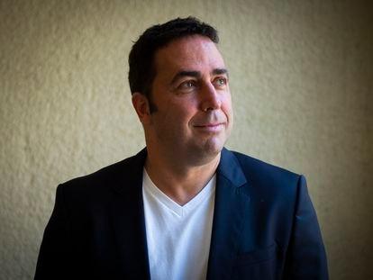 Jordi Herreruela, director del festival Cruïlla, el pasado miércoles en su oficina de Barcelona.