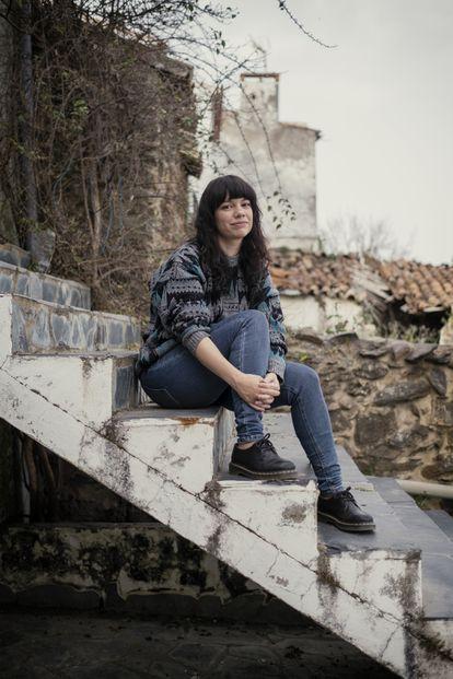 The writer Elisa Victoria.