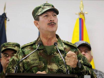 El excomandante del Ejército colombiano, Nicacio Martínez