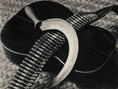 'Canana, hoy y guitarra' (1928), obra de Tina Modotti