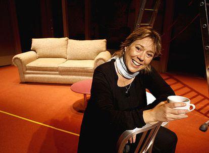 Tamzin Townsend, en el teatro Lara de Madrid donde estrenará <i>Días de vino y rosas.</i>