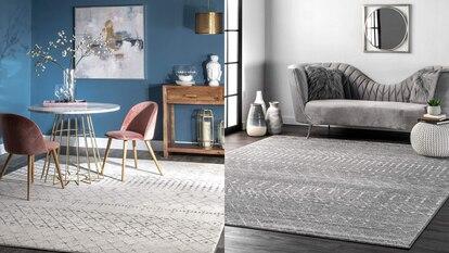 Esta alfombra para casa está disponible en una variedad de modelos y medidas