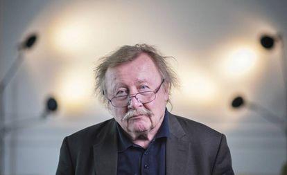 Peter Sloterdijk, fotografiado en Barcelona el 2 de mayo.