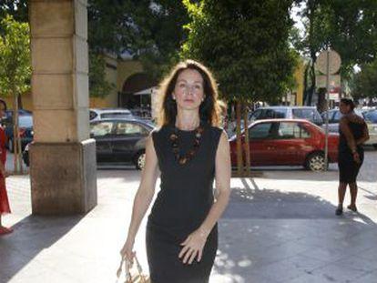 La juez Mercedes Alaya, el pasado enero en los juzgados sevillanos.