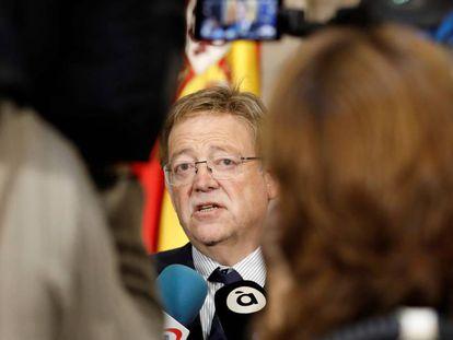 El presidente valenciano Ximo Puig.