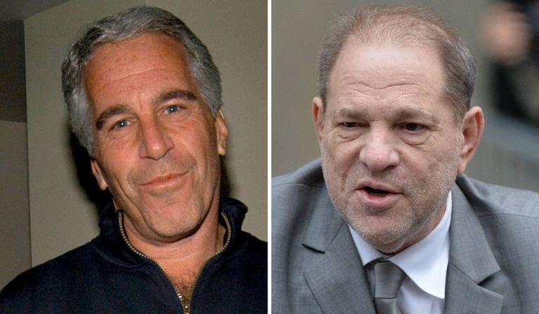 Jeffrey Epstein y Harvey Weinstein.