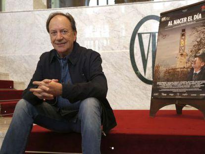 El director serbio, Goran Paskaljevic, en la presentación en 2013 de 'Al nacer el día' en el festival Cine y Derechos Humanos de San Sebastián.