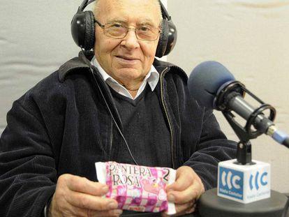 Josep Pujol, en una entrevista en Radio Castellar.