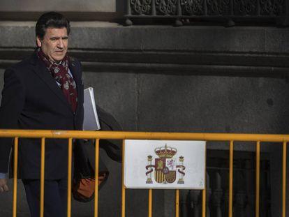 David Marjaliza acude a declarar a la Audiencia Nacional el pasado enero.