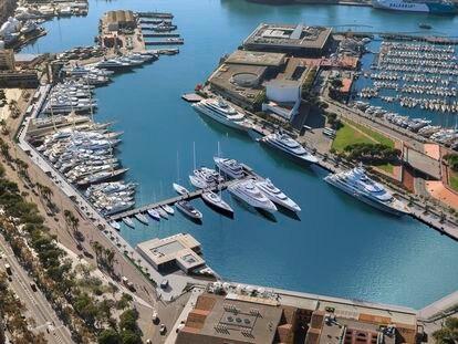 Una imagen que muestra cómo quedará el proyecto de reforma de la Marina Port Vell.