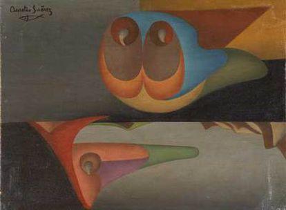 'Hidropílfidos Flotantes' (1948), de Aurelio Suárez.