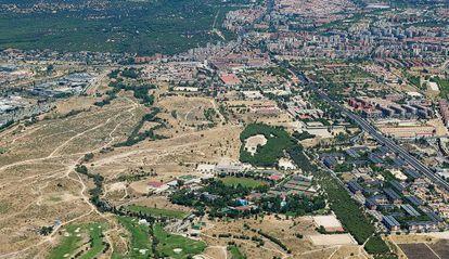 Vista aérea de la zona donde se llevará a cabo la Operación Campamento.