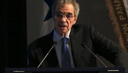 César Alierta, en una reunión de empresarios.