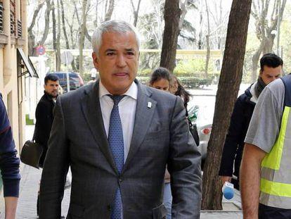 El expresidente de Ausbanc, Luis Pineda, en una imagen de archivo.