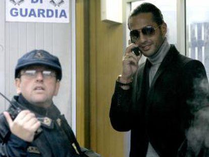 Fabrizio Corona, el fotógrafo detenido.