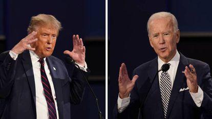 Donald Trump y Joe Biden, rivales por la Casa Blanca. / EP