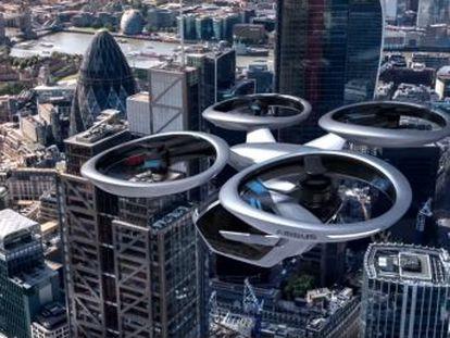 La red de telefonía móvil servirá para controlar casi ocho millones de aparatos voladores.