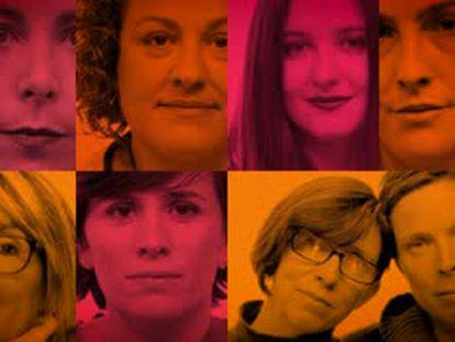 Ocho mujeres que obtuvieron una victoria en Change.org.