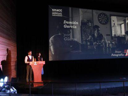 Sofía Espinosa y Luis Méndez anuncian las nominaciones al Ariel.