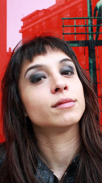 La poeta, actriz y <i>bloguera</i> Déborah Vukusic.