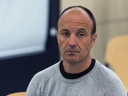 Tomás Madina 'Basurde' este lunes durante el juicio. / F. VILLAR (EFE)