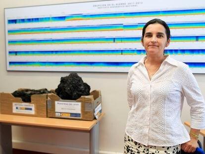 Carmen López Moreno, directora del Observatorio Geofísíco Nacional.