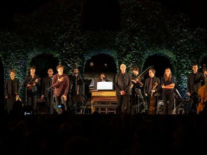 William Christie y Les Arts Florissants en el Festival Dans les Jardins de 2020.