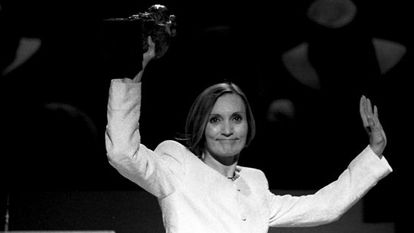 Pilar Miró, en 1997.