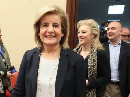 Comparecencia de la ministra de Empleo y Seguridad Social, Fátima Bañez en la Comisión del Congreso.