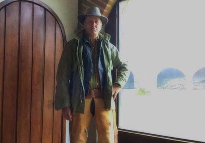 Xavier Velasco, en una imagen del rodaje de 'Nuestro Tiempo'.