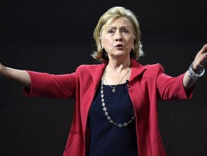 Hillary Clinton, aspirante demócrata a la Casa Blanca en 2016.