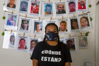 Angelica Orozco;  Activist member of Forces United for Our Disappeared in Nuevo León.