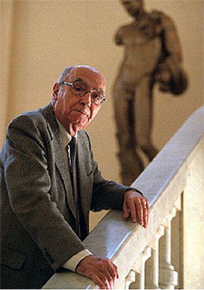 José Saramago (Azinhga, Portugal, 1922) obtuvo el Nobel de Literatura en 1998.