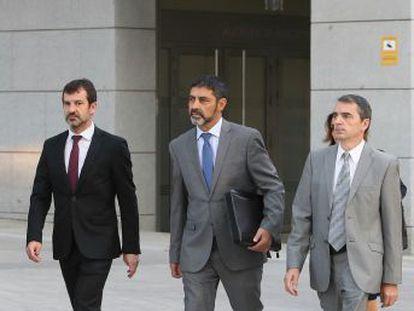 El comisario mayor de los Mossos deberá responder por la supuesta pasividad del cuerpo ante el referéndum ilegal del 1 de octubre