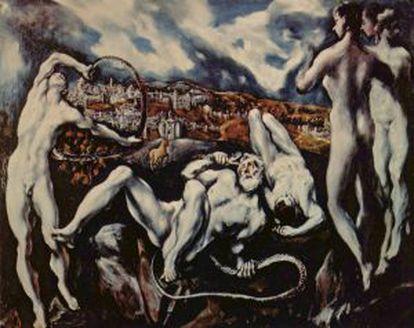 """'Laocoonte', de El Greco, """"un cuadro lleno de espacio"""" según el poeta Rainer Maria Rilke, admirador el pintor cretese."""