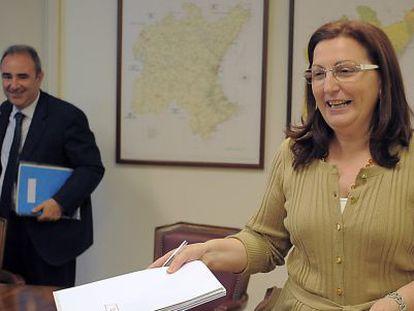 María Ángeles Ureña, presidenta de la Confederación Hidrográfica del Júcar.