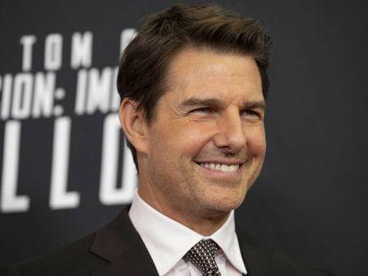 El actor Tom Cruise, durante la presentación de 'Mission Impossible Fallout', en julio pasado.