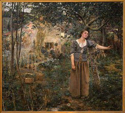 'Juana de Arco' (1879), de Jules Bastien–Lepage.