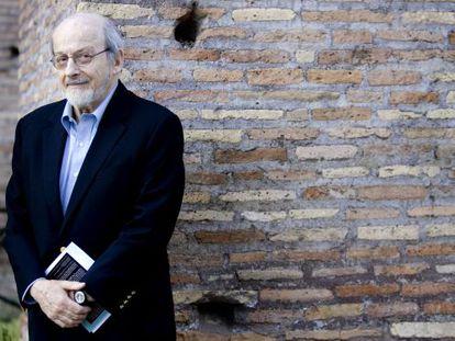 El escritor estadounidense E. L. Doctorow, en 2007