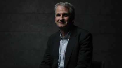 El historiador estadounidense Timothy Snyder, en Madrid en 2018.