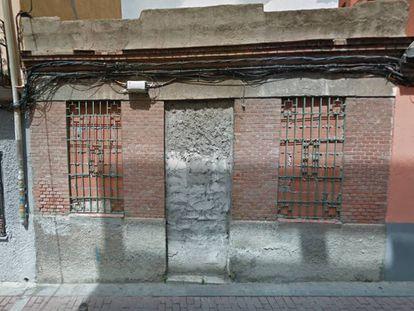 Imagen de Google Maps, tomada en 2017, de la casa en la que fue hallado el cadáver de Agapito Arenas.