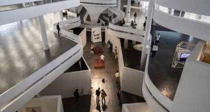 Vista general de la Bienal de São Paulo.