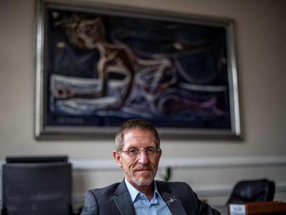Emilio Archila, consejero presidencial para la Estabilización de Colombia, en su despacho de la Casa de Nariño, en Bogotá.