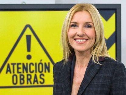 Cayetana Guillén Cuervo en la presentación de su nuevo programa.