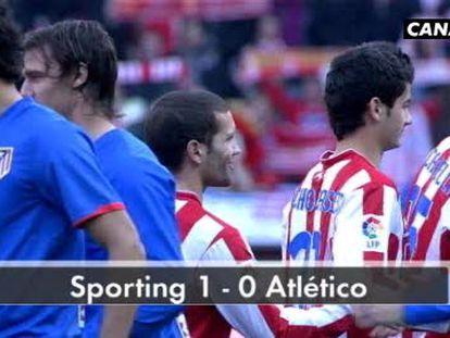 Sporting 1 - Atlético de Madrid 0