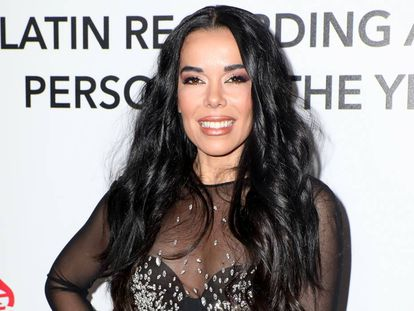 Beatriz Luengo en la gala en homenaje a Maná organizada por los Grammy Latinos en 2018.