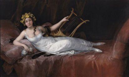 'La Marquesa de Santa Cruz' (1808), obra de Francisco de Goya.