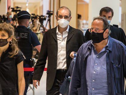 Jose Antonio Urrutikoetxea Bengoechea, Josu Ternera, en el primer día de su primer juicio en Francia