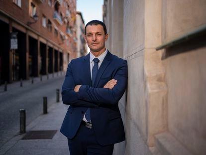 Jordi Gallardo, ministro de Presidencia, Economía y Empresa de Andorra, el martes en Madrid.
