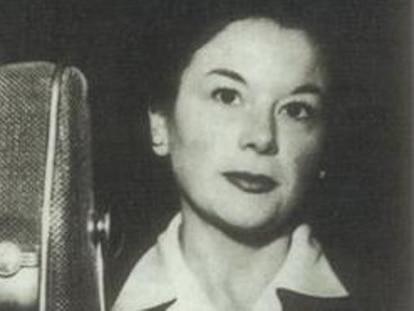 Matilde Vilariño, en una imagen de los años cincuenta.